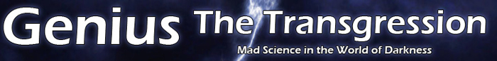 Mad Science in the World of Darkness!